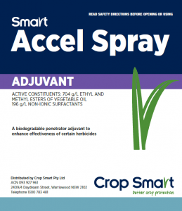 Smart Accel Spray Adjuvant