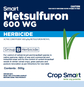 Smart Metsulfuron 600WG Herbicide