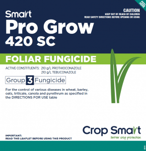 fungicide, pro grow, wheat disease, directions for fungicide use