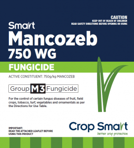 For the control of certain fungus diseases of fruit, field crops, tobacco, turf, vegetables and ornamentals