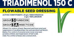 Smart Triadimenol 150C label